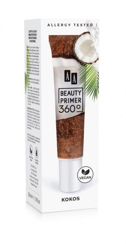 AA Beauty Primer 360 Baza pod makijaż Light & Calm Kokos 30ml