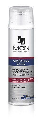 AA Men Adventure Care Żel do golenia twardego zarostu 200ml