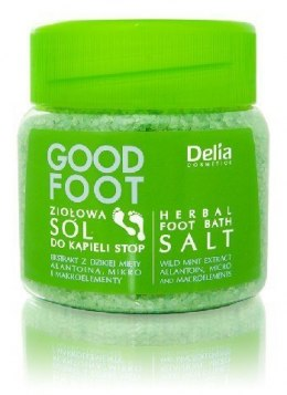 Delia Cosmetics Good Foot Ziołowa sól do kąpieli 100ml