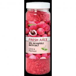 Fresh Juice Sól do kąpieli Litchi & Patchouli 700g