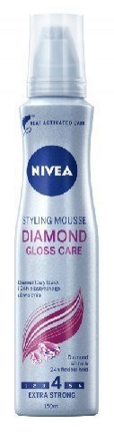 Nivea Hair Care Styling Pianka do włosów Diamond Gloss Care 150ml